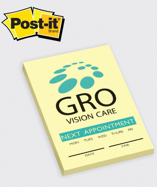 Logo Imprinted Post-It Notes